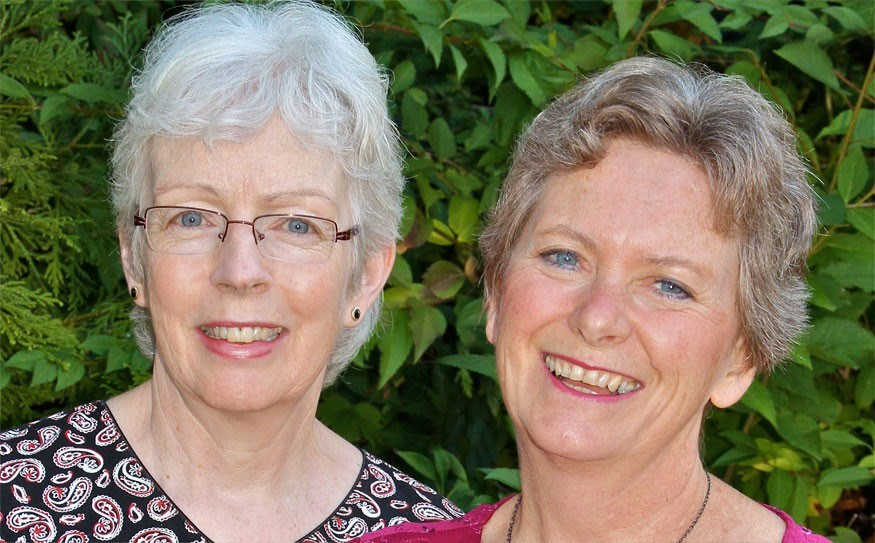 INSPIRED Joanna Schwarz and pal Carol Grolman are presenting a concert of their own compositions Oct. 28 in Squamish. Photo Submitted