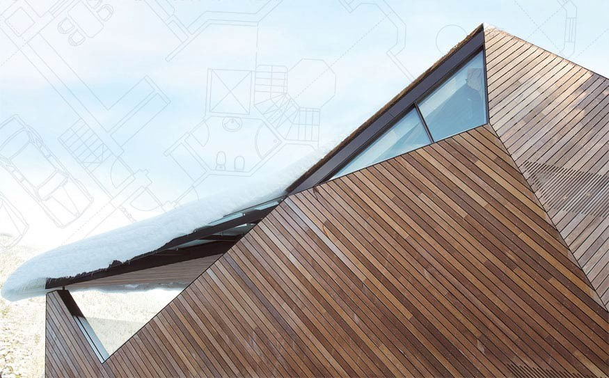 Glenn Linsky's Origami house