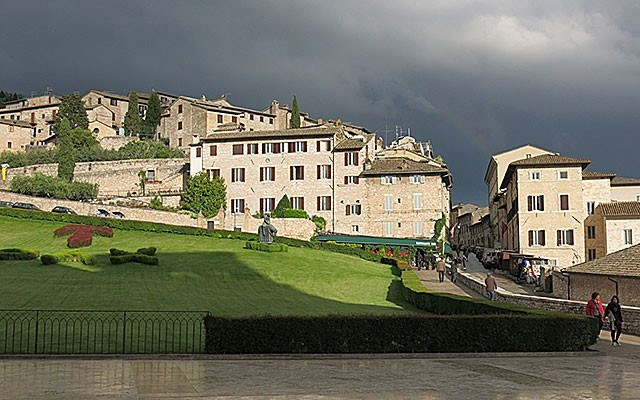 Assisi after a rainstorm. Photo by Duane Hepditch