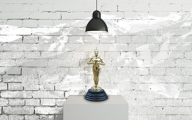 Georgie award statue. Submitted