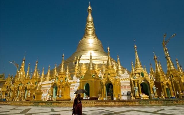Shwedagon Pagoda. Photo Sourced