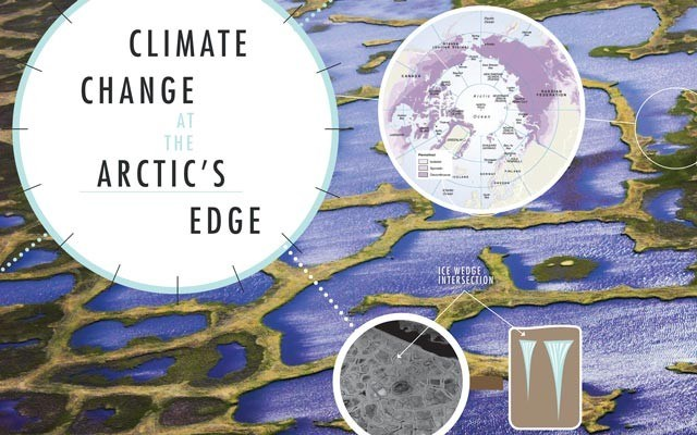 Climate Change at the Arctic's Edge. by Leslie Anthony
