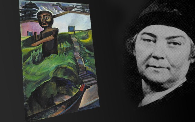 Stunning legacy The Crazy Stair, by Emily Carr, one of Canada's most revered painters, has been added to the Audain collection. Image courtesy of the Heffel Fine art Auction house