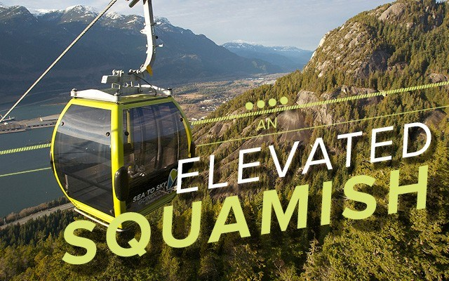 An Elevated Squamish The Sea to Sky Gondola — a project that battled to get off of the ground — is winding down its first season. Photos courtesy of Sea to Sky Gondola