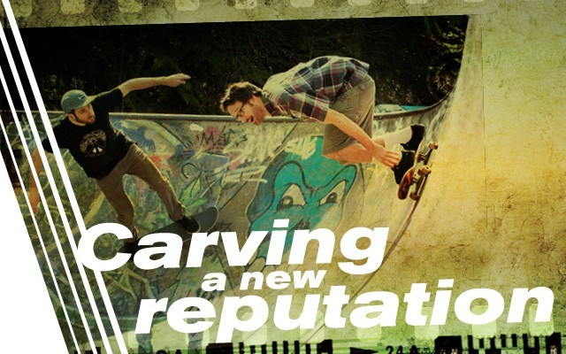 Carving a new reputation - Skateboarders work toward renovations. Story by Rachel Purdy
