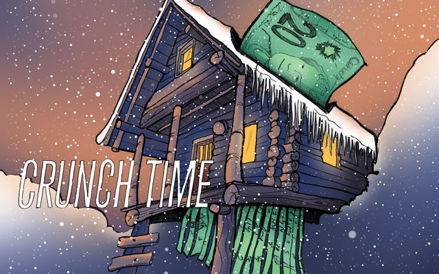 Crunch Time Peering into the pitfalls of whistler's housing shortage. Illustration by Claire Ryan