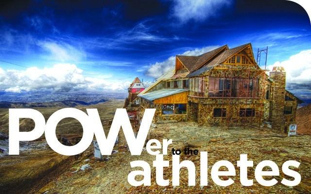 The world's highest ski resort at the Chacaltaya glacier in La Paz, Bolivia. wikimedia commons