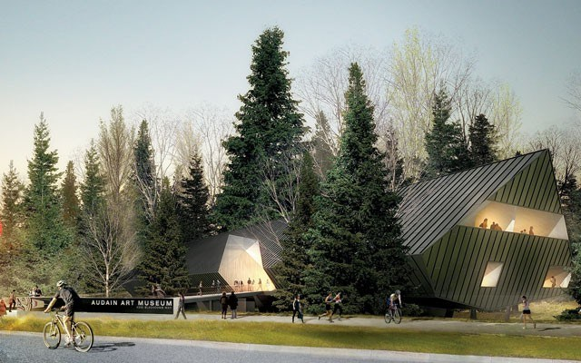 Audain Art Museum artist rendering. Image Submitted