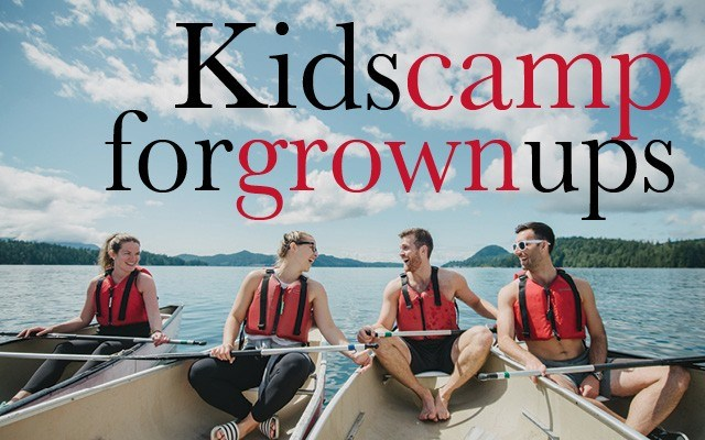 Kids camp for grownups – Summer camps like the one in Gibsons are opening their doors to adult-style fun. Photo by Darby Magill