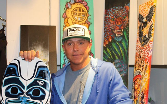 Local Legend Chris Prior of Prior Snowboards and Skis passed away unexpectedly at his home on Sunday, Oct. 15. file photo by Cathryn Atkinson