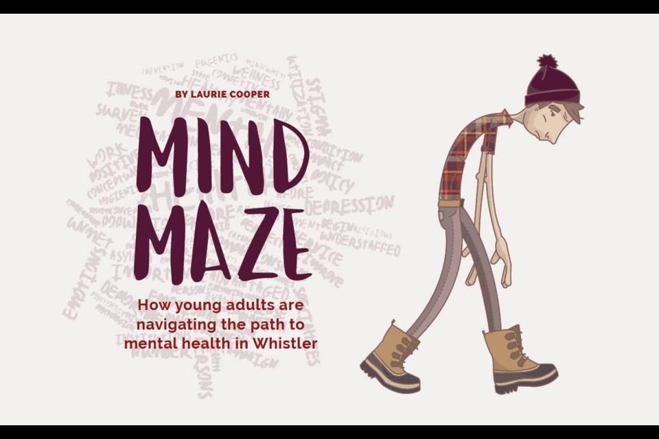Mind Maze. Illustration by Lou O'Brien