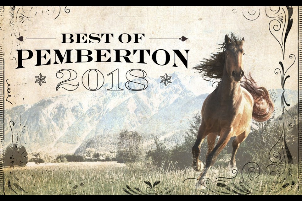 Best of Pemberton 2018. By Andrew Mitchell. Layout by Jon Parris