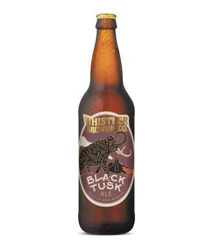 REGALE WITH ALE Whistler Brewing Co.'s Black Tusk Ale earned a national gold medal at this year's World Beer Awards for its Black Tusk Ale, repeating its win from 2017. Photo courtesy of the Whistler Brewing Company