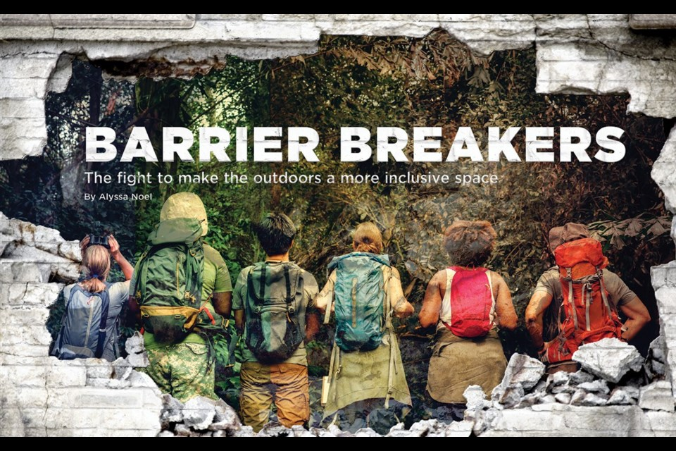 Barrier breakers The fight to make the outdoors a more inclusive space