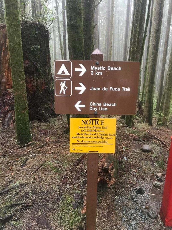 juan-de-fuca-trail-closed