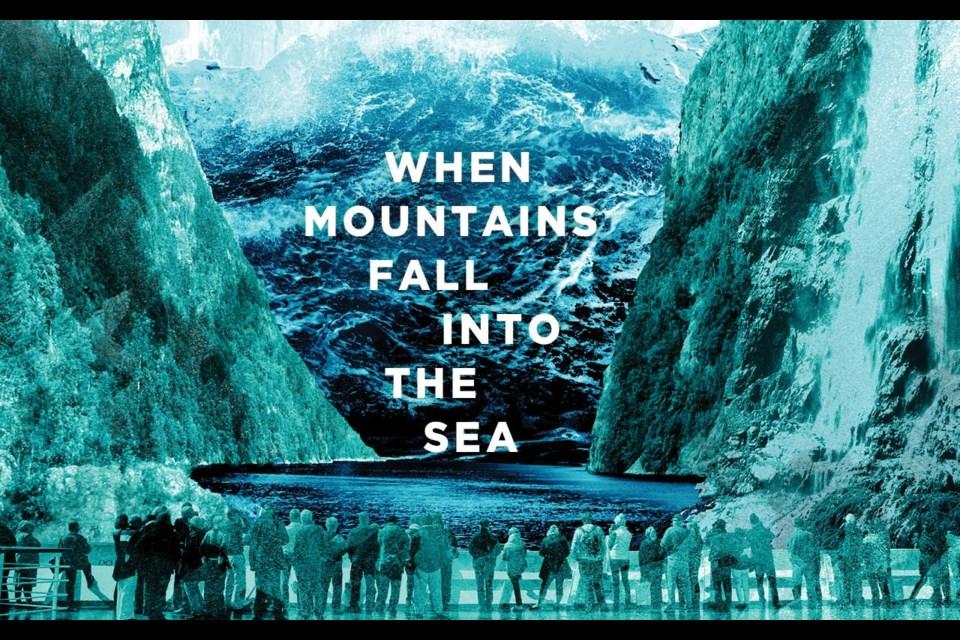 When mountains fall into the sea. Tyee Bridge / <i>Hakai Magazine</i>