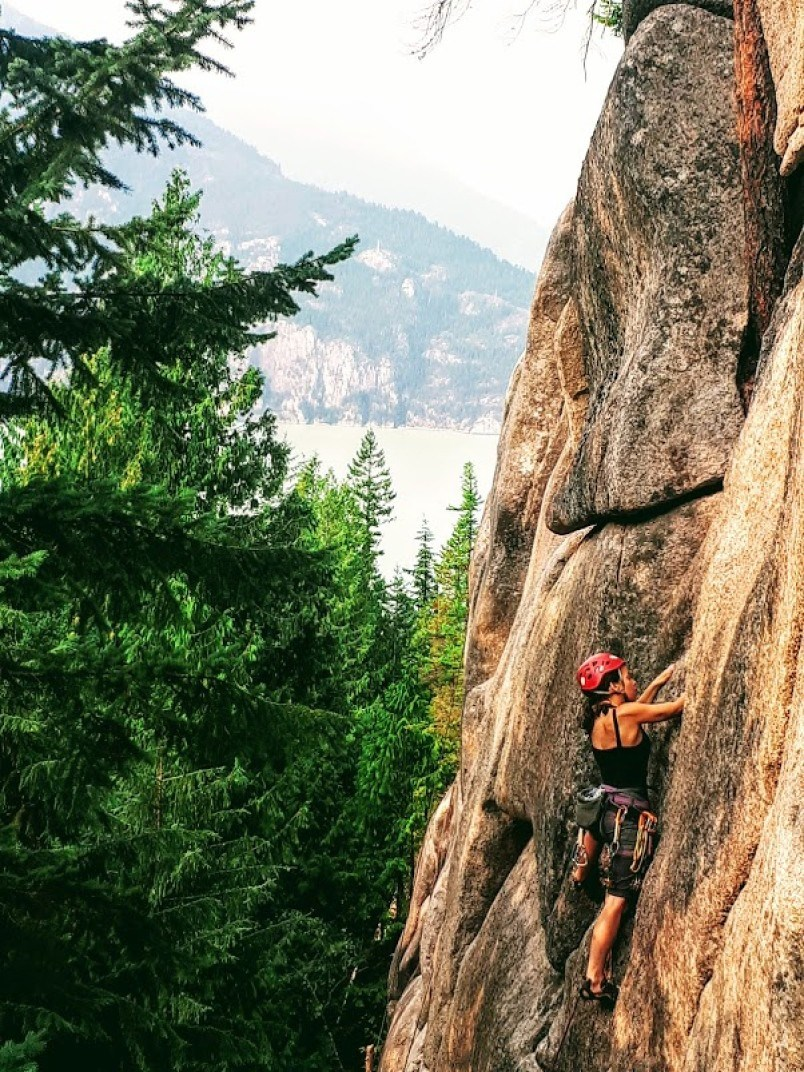 adrienne_wheaton_squamish_climbing_one_thumb_up