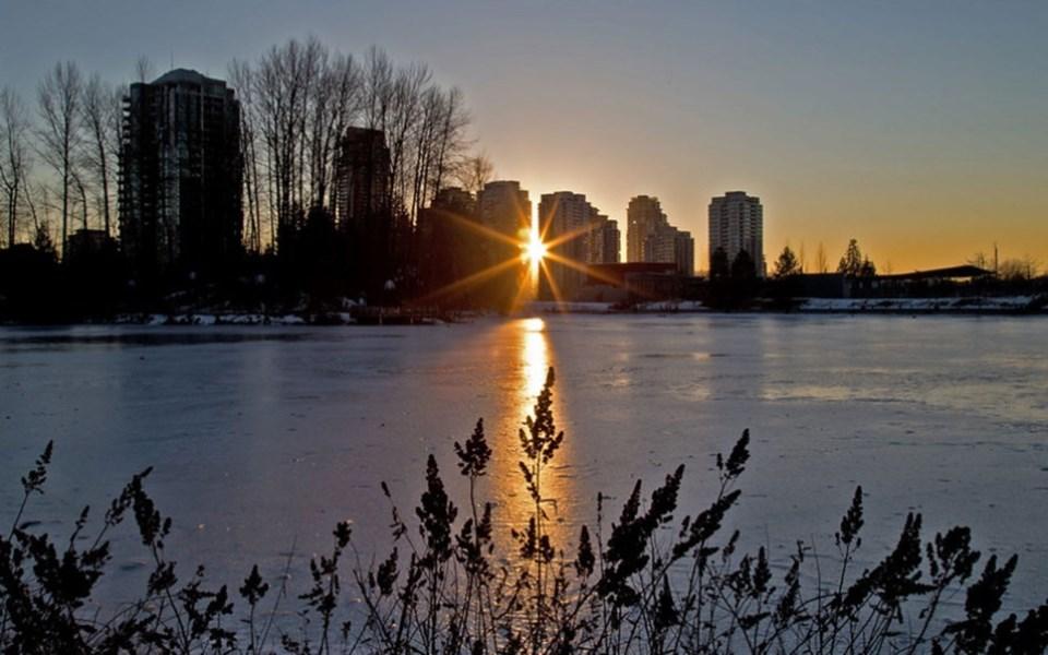 sunset-at-lafarge-lake