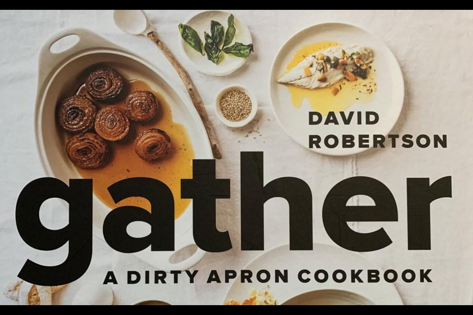 Gather by David Robertson is a cookbook for the serious foodies on your shopping list. Photo submitted