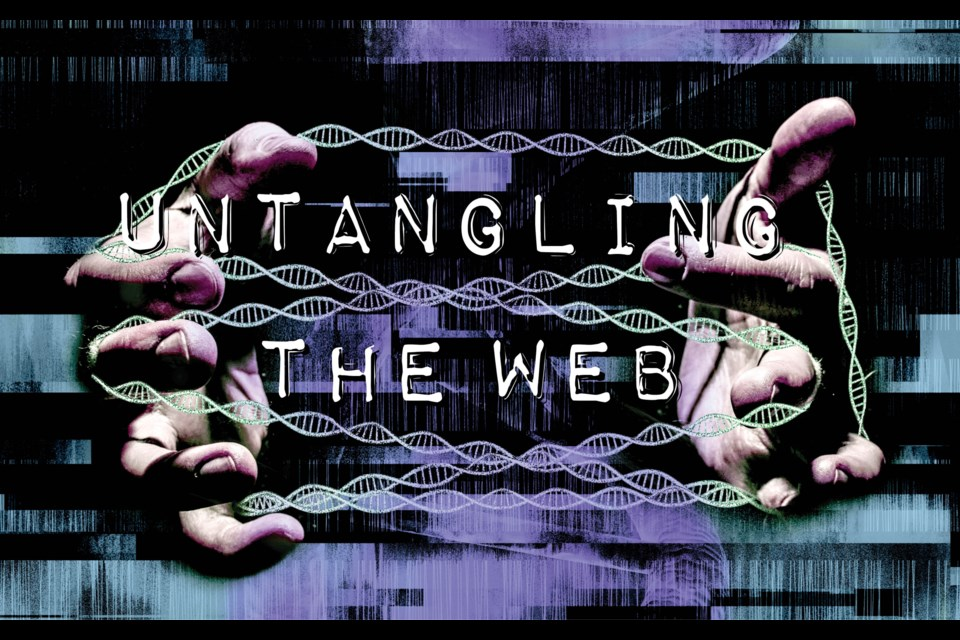 Untangling the web Charting the many implications of the rise of DNA home testing kits. Erica Osburn