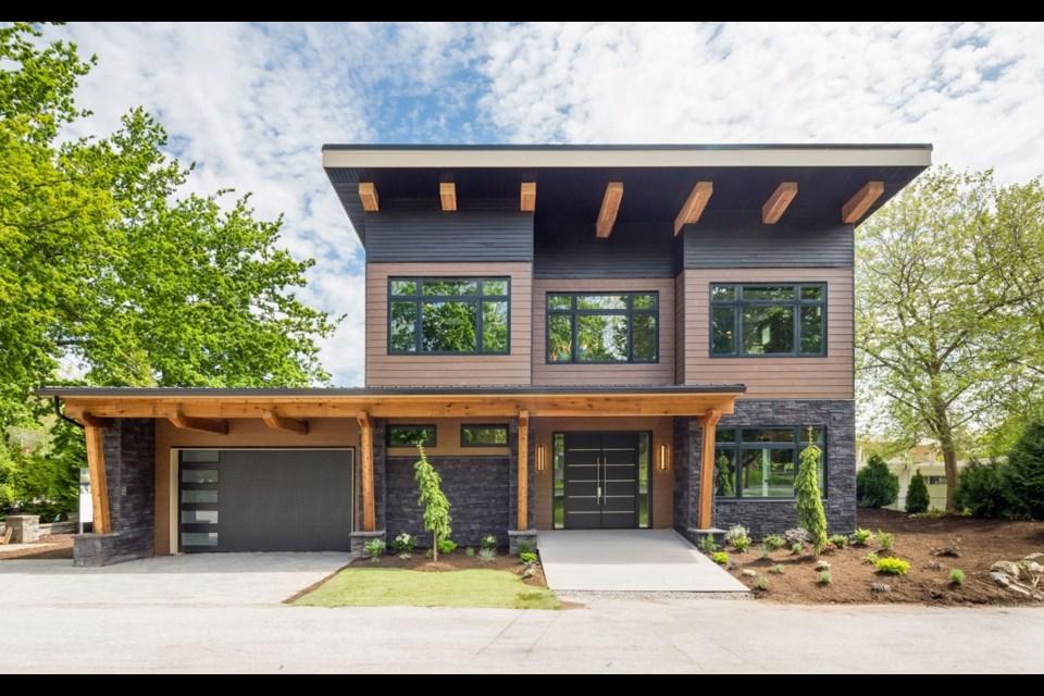 The 2020 PNE prize home, which will be located in Pemberton's Sunstone development. Photo courtesy of the PNE