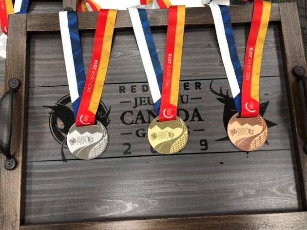 2019 Canada Winter Games medals