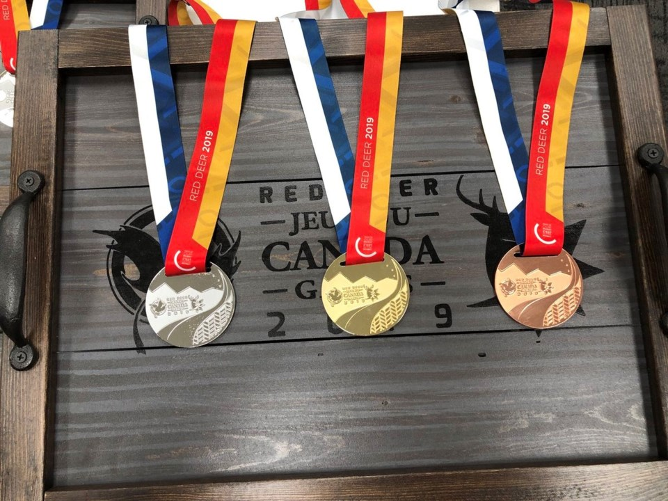 2019 Canada Winter Games medals