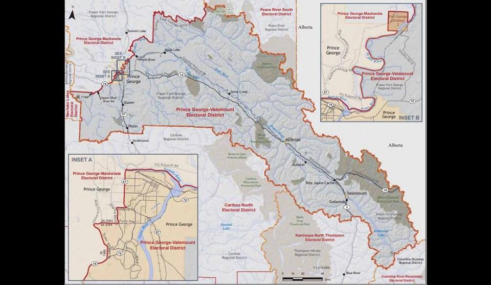 Prince George-Valemount electoral area - Elections BC