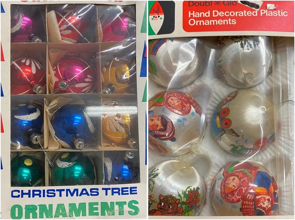 Hunting with Holmes - Nov. 20, 2020 Christmas ornaments