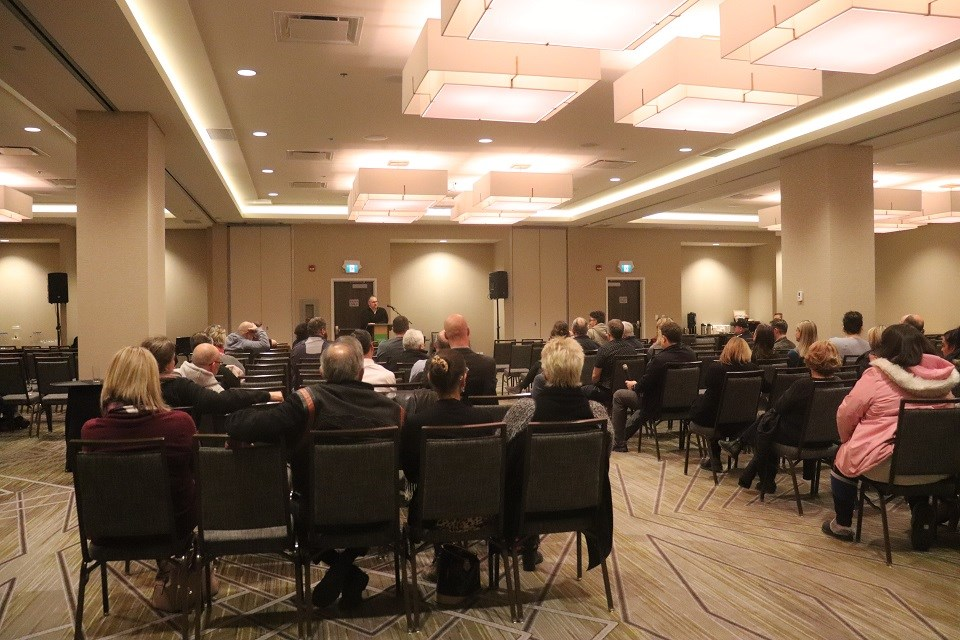 The Prince George Chamber of Commerce hosted an emergency meeting with its business members to discuss crime, vandalism and other issues affecting the downtown core (via Kyle Balzer)