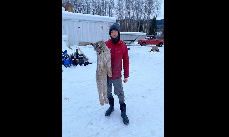 Chris Paulson lynx 3 - Rachelle van Zanten