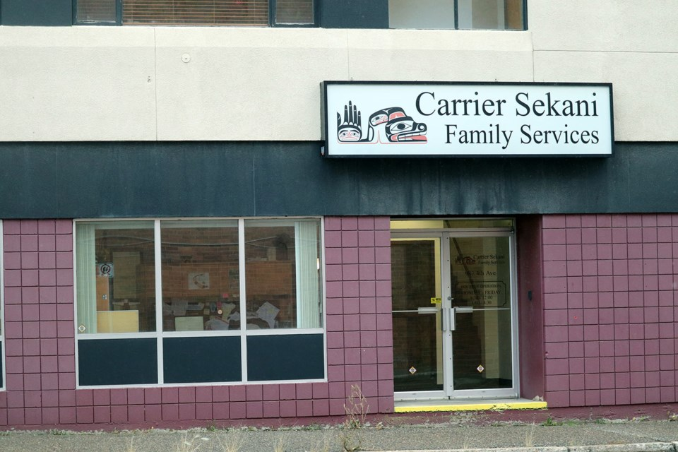 Carrier Sekani Family Services located off Fourth Avenue in Prince George (via Kyle Balzer)