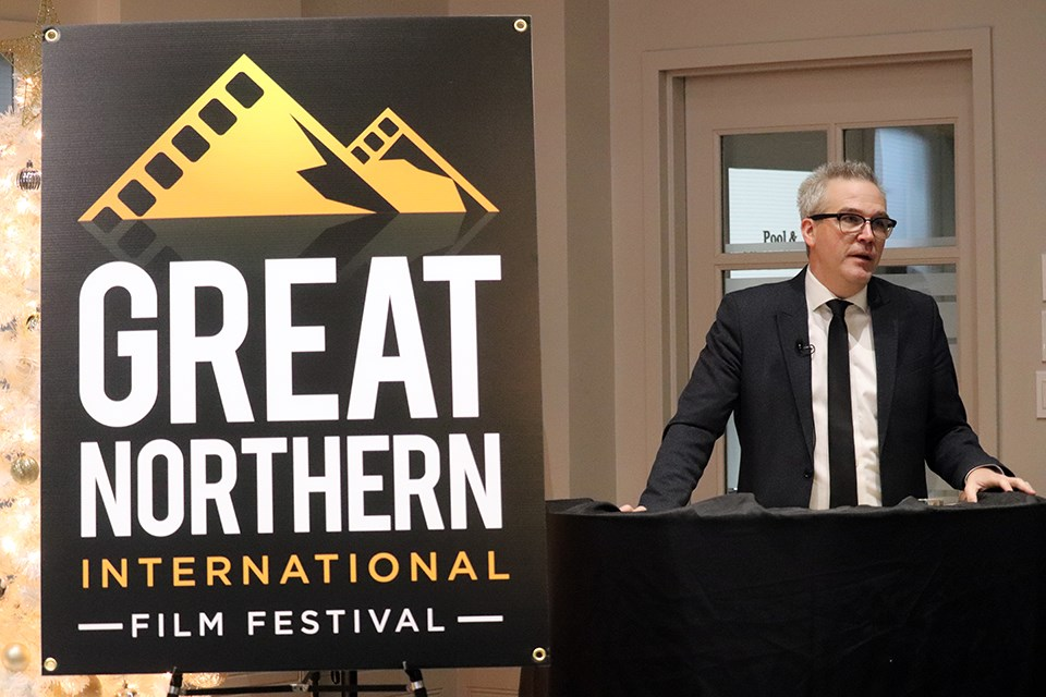 Norm Coyne, founder of UNLTD Media and Events, speaks to Prince George's first-ever Great Northern International Film Festival set for September 2020 (via Kyle Balzer)