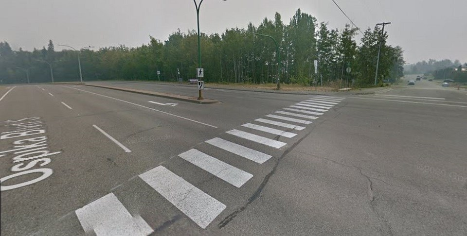 Ospika Boulevard and Davis Road - City of Prince George 2