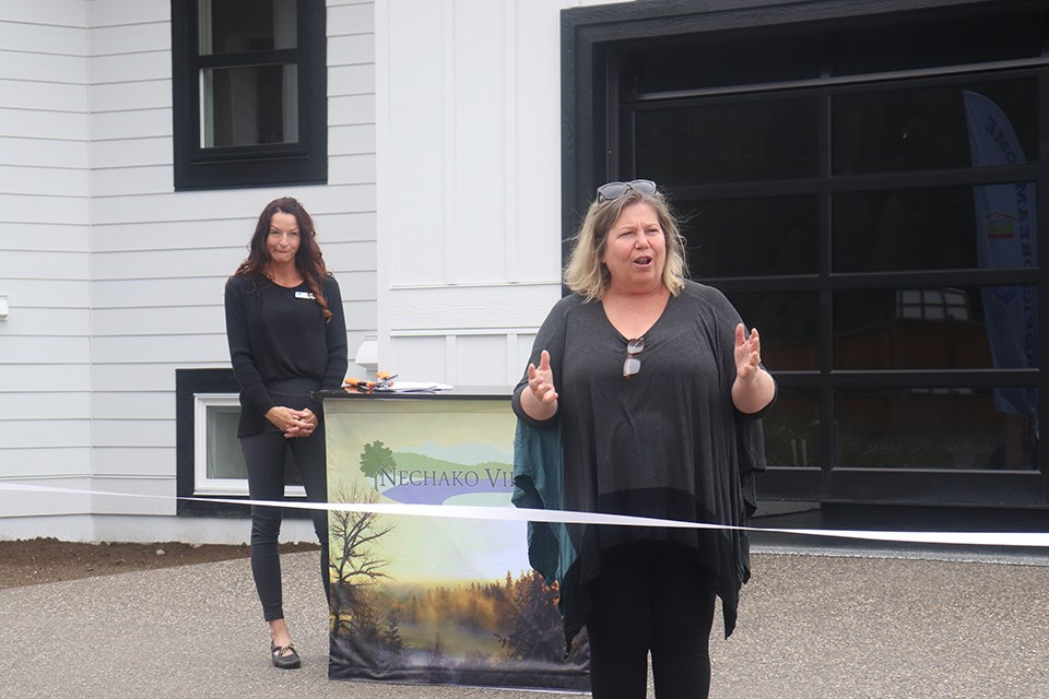 The Hospice Dream home officially opened on June 30. (via Hanna Petersen, PrinceGeorgeMatters)