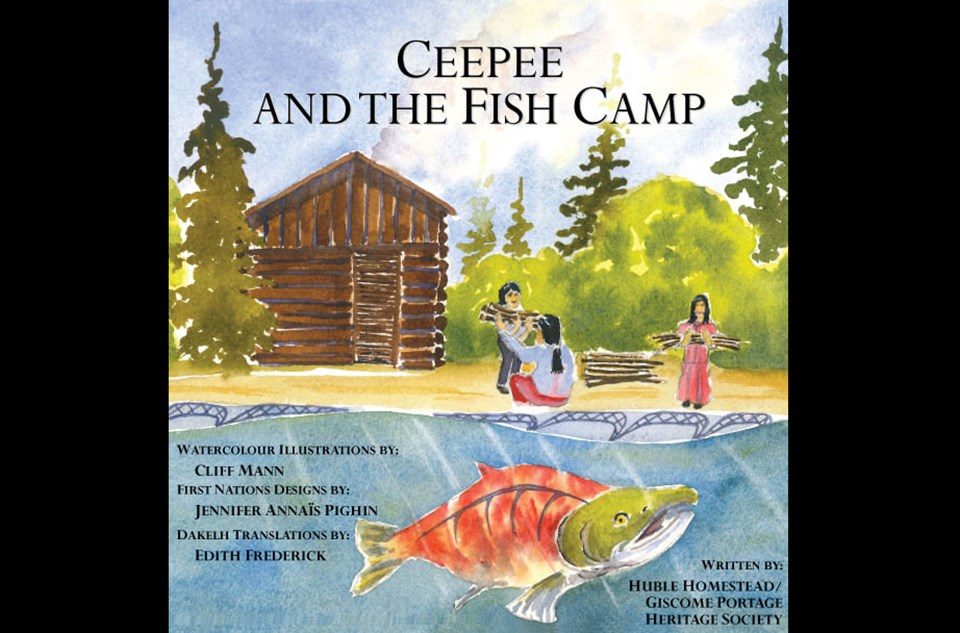 CeePee and the Fish Camp Cover Art