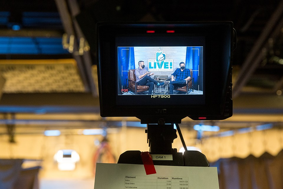The inaugural Prince George LIVE! broadcast fundraiser raised more than $55,000.