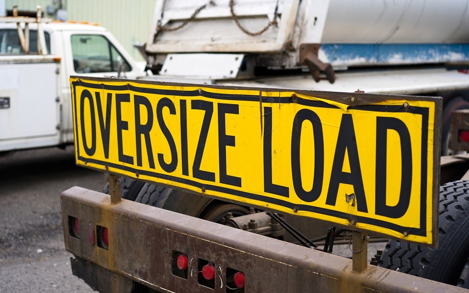 Oversize load oversized load - Getty Images