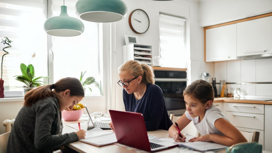 Women working from home - Getty Images