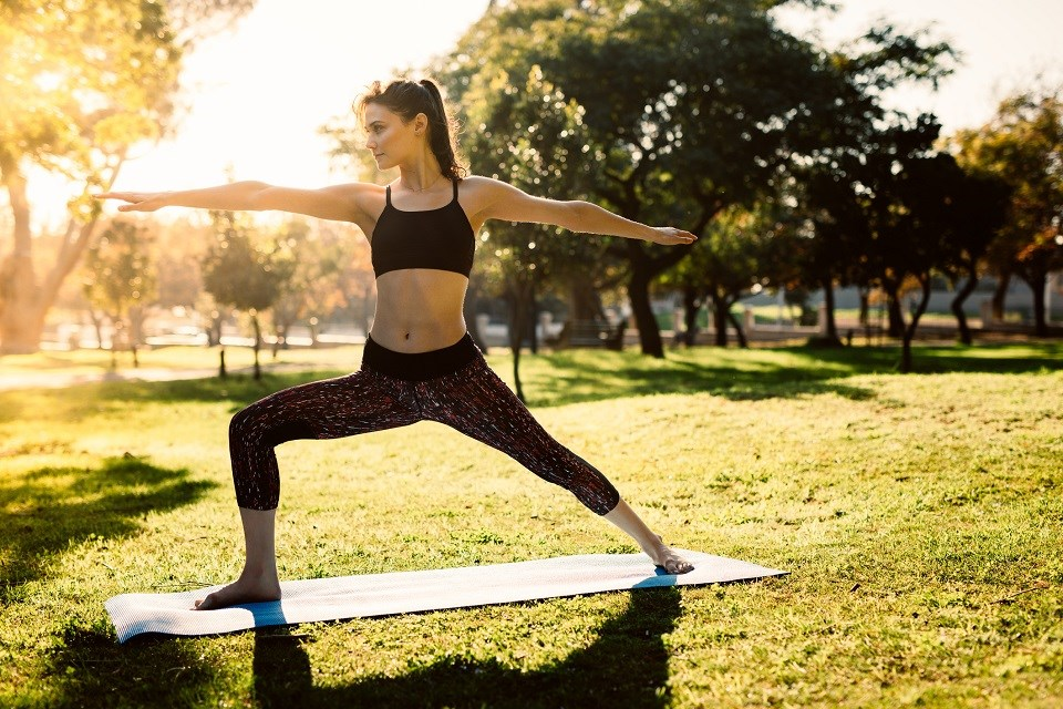 Yoga in a park - Getty Images