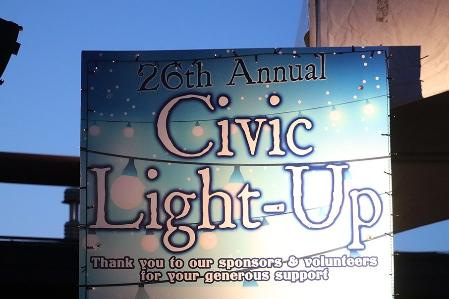 The 26th Annual Civic Light Up took place at Canada Games Place. (via Hanna Petersen)