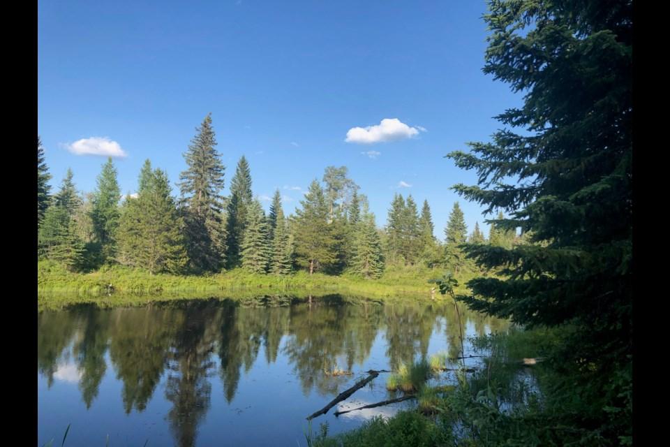 Little Goodsir Lake. (via Hanna Petersen)