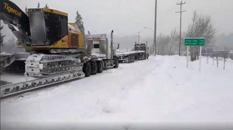 Peden Hill truck back-up Brian Skakun