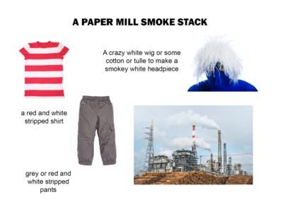 paper mill costume