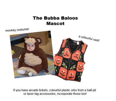 The Bubba baloos monkey
