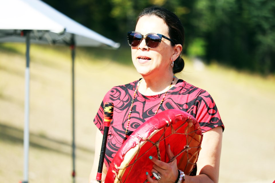 Kym Gouchie, grandaughter of the late Mary Gouchie, is a Prince George musician and elder of the Lheidli T'enneh First Nation. (via Jess Fedigan)