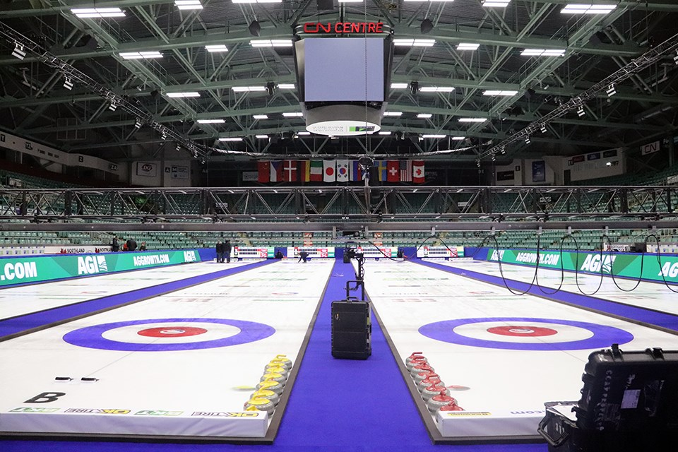 The 2020 World Women's Curling Championships in Prince George have been cancelled. (via Kyle Balzer)