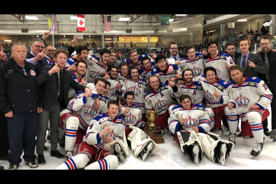 The Prince George Spruce Kings have won the Doyle Cup! (via Kyle Balzer)