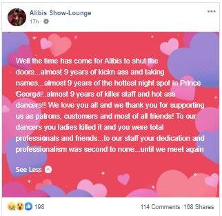 Alibis showloundge