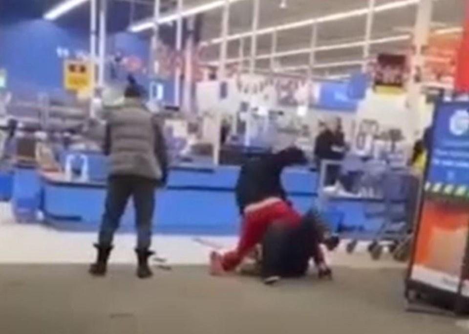 Dawson Creek Walmart Employee attack Dawson Creek